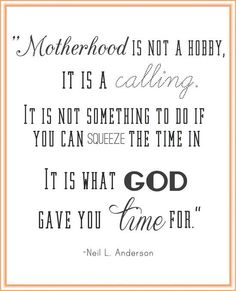 I may have not given birth to you, but god called us to give each other what we were missing.