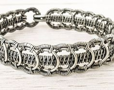 Wire Wrap Bracelet  Wire Wrapped Jewelry  Handmade Bracelet
