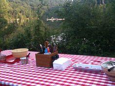 Picnic at the lake