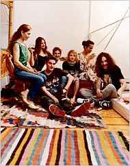 By CHRISTINE MUHLKE  Published: December 16, 2007  The mystique surrounding today's Lower East Side art stars doesn't include how well they eat. Nor does it promote the image of a cozy holiday dinner. But on a late-fall afternoon, downtown notables gathered for the First Postapocalyptic Christmas Dinner at the Chinatown loft of Agathe Snow. As prepared by Snow and her kitchen collaborators, the artists Marianne Vitale and Anne Apparu — together known as the catering-as-performance company…