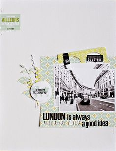 London is always a good idea by Armance at Studio Calico