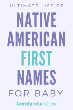 Trying to pick out a name for your baby on the way? These Native American baby names are beautiful and unique. Get inspired! #babynames #babyontheway