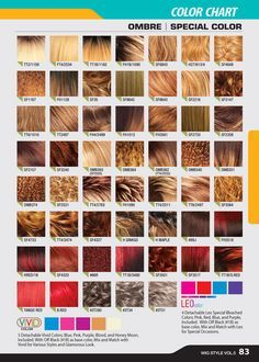 freetress ombre color chart - Google Search