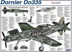 Dornier Do 335. This not part the Cold War category? This shown so that reader can get a better idea of what these other planes are like? ✠ Dornier Do 335 ✠?..