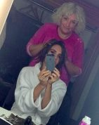 Posh Spice chops her hair off!!