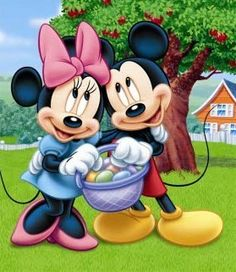 Mickey and Minnie - Easter