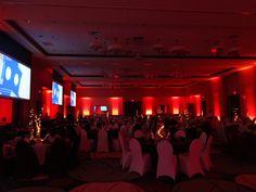 02-08-2013 Chamber Awards Dinner Lighting - http://www.fivestar-entertainment.com #lighting, #five, #star, #embassy, #suites