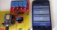 Android Arduino Control: ESP8266 WiFi Control Relay