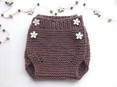 Diaper cover Portobello knit