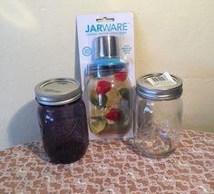 Mason Jar Cocktail Shaker Set Kit by LosChapines on Etsy