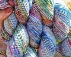 Hand Dyed Yarn - Sock/Fingering Weight - 100g 80/20 Superwash Merino/Nylon - Swallows and Amazons. Beautiful hand dyed yarn from UK dyer - ships world wide, great shipping rates. www.underanenglishsky.etsy.com