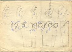 Schemi #colli e #maniche - 123 ricreo