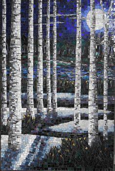 Laura Rendlen. Birch Trees