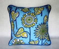 Decorative Pillow cover in Indigo and by PillowLoftHomeDecor, $19.99