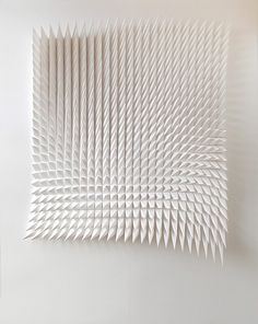 New Geometric Paper Art from Matthew Shlian