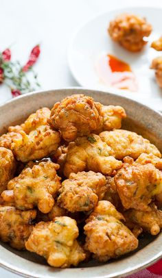 Caribbean Salt Cod Fritters - tasty appetizer everyone will love. Cod Recipes, Fish Recipes, Seafood Recipes, Indian Food Recipes, Cooking Recipes, Ethnic Recipes, Haitian Food Recipes, Donut Recipes, Curry Recipes