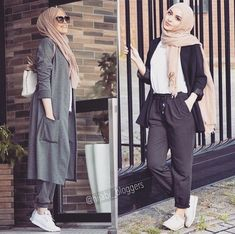 Turban Hijab, Hijab A Enfiler, Hijab Outfit, Muslim Fashion, Hijab Fashion, Hijabs, Hijab Islam, Semi Formal Outfits For Women, Hijab Style Tutorial