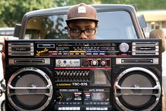 carrying boom box - Google Search