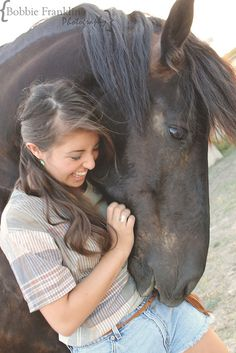 Ana and her horse, by Bobbie Franklin Photography, via Flickr
