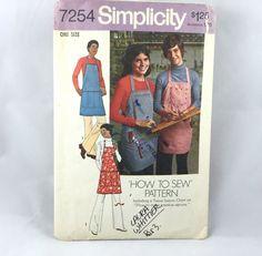 70's Simplicity 7254 Pattern Men's or Misses' by ElkHugsVintage