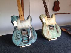 New Parsons California Fender Telecaster guitars.