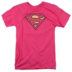 Classic Superman Logo Tee