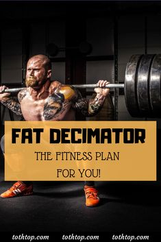 Looking to become fit and healthy? Wanting to find one of the best fitness plans? Health and fitness are both equally important, finding a great dieting and exercise plan is important too. Check out the Fat Decimator and see if it& right for you. Best Fitness Programs, Workout Programs, Fitness Tips, Fitness Exercises, Health Fitness, Fitness Goals, Workout Planner, Fitness Planner, Bikini Competition Workout Plan