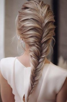 Easy Hairstyles For Long Hair, Braids For Long Hair, Bride Hairstyles, Hairstyles Haircuts, School Hairstyles, Braids For Prom, Hairstyle For Long Hair, Medium Hair Braids, Braids Easy