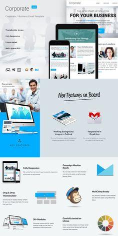 9 Corporate Email Bundle + Builder