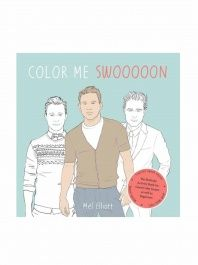 because mommy needs something for coloring time too color me swoon the beefcake activity book for good color inners as well as beginners mel elliott - Thrill Murray Coloring Book