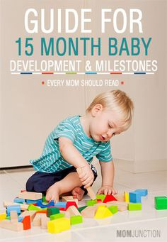 Baby's 15th Month - A Guide To Development And Milestones. Repinned by SOS Inc. Resources pinterest.com/sostherapy/.