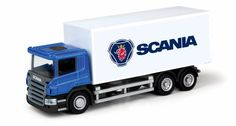 Die-cast metal with plastic parts, classic Scania livery and opening back doors. Container Truck, Back Doors, Diecast, Trucks, Vehicles, Truck, Rolling Stock, Vehicle, Cars