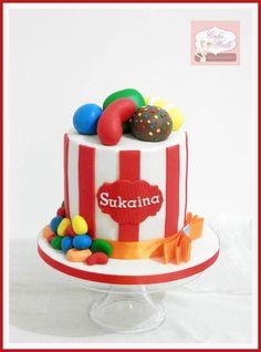 Candy Crush Theme Cake Candy Crush Cakes, Candy Crush Saga, Top Candy, Mini Cakes, Themed Cakes, Crushes, Birthday Cake, Chocolate, Desserts