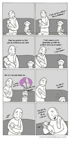 Lunarbaboon et la vie de papa : 13 dessins réalistes et drôles !