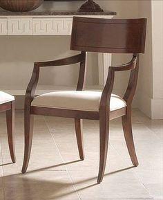 Klismos chairs