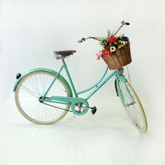 bicicleta vintage isis green - vintage e retrô echo vintage
