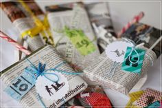 Karens-Backwahn: {DIY} Mein Adventskalender 2013... Xmas, Gift Wrapping, Gifts, Today Morning, Holiday, Christmas, Crafting, Ideas, Gift Wrapping Paper