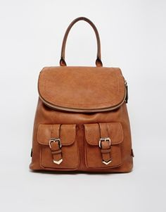 ALDO Convertible Backpack with Buckle Detail