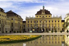 Barry Lyndon location: Schloss Ludwigsburg, Stuttgart, Germany
