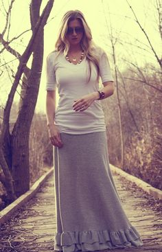 Cute blog combining fashion inspiration and modesty