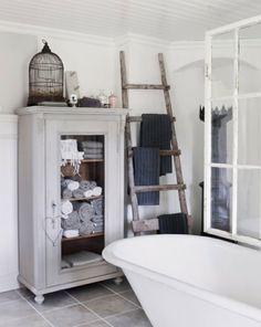 Badezimmer Organisation Idee die alte Kommode verwenden könnten
