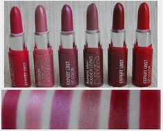 Lovely Girlie Bits - Irish Beauty Blog with beauty news, reviews, YouTube, makeup, skincare!: NYC Expert Last Lip Colors review, photos, swatches
