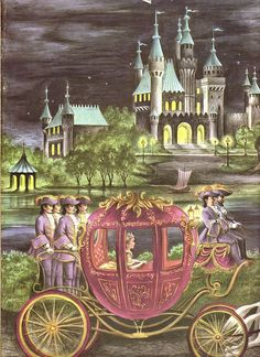 Cinderella ~ illustrated by Ruth Ives,1954