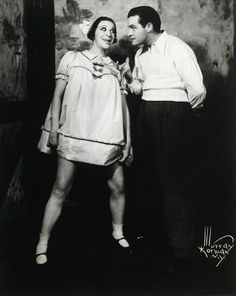 Fannie Brice -Lived: Oct 1891 - May 1951 (age & Bob Hope -Lived: May 1903 - Jul 2003 (age -The Photographs of Murray Korman Old Hollywood Stars, Golden Age Of Hollywood, Man Humor, Girl Humor, Comedy Tonight, Bob Hope, Old Movie Stars, Showgirls, Comedians