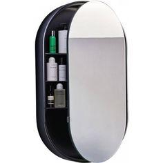 Cielo I Catini Wastafelspiegelelement Ovaal cm Brushed Bronze - Meg Bathroom Mirror Cabinet, Mirror Cabinets, Bathroom Cabinets, Ensuite Bathrooms, Bathroom Renos, Bathroom Inspiration, Master Bath, Toilet, Interior Decorating