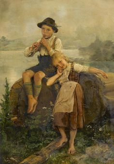 Paul Hermann Wagner  Sweet music. German, b.1852