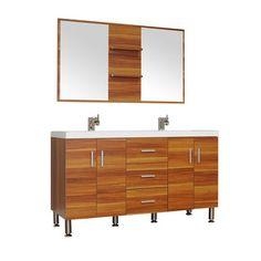 "Modern Bathroom Vanities Pompano Beach alya bath at-8060-g 48"" single modern bathroom vanity | grey"