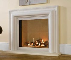 glass fronted gas fire - Google Search