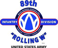"Amazon.com: 89TH INFANTRY DIVISION ""ROLLING W"" "" U.S. MILITARY CAMPAIGNS LAMINATED PRINT ON 18"" x 24"" QUARTER INCH THICK POSTER BOARD: Everything Else"