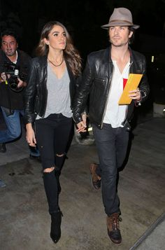 nikki-reed-ian-somerhalder-couple-style